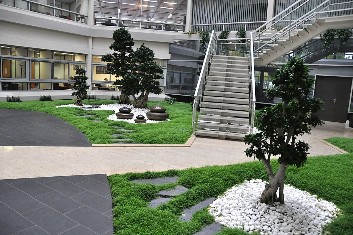 Zen garden european interior landscaping organisation for Ardoise decorative jardin