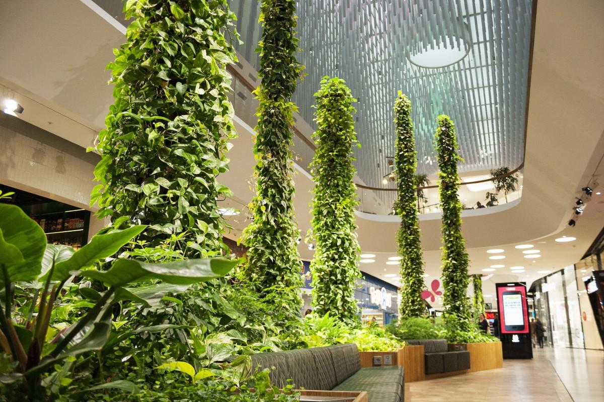 Green Fortune Stalagmites 2016 Mall Of Scandinavia Stockholm Sweden 1
