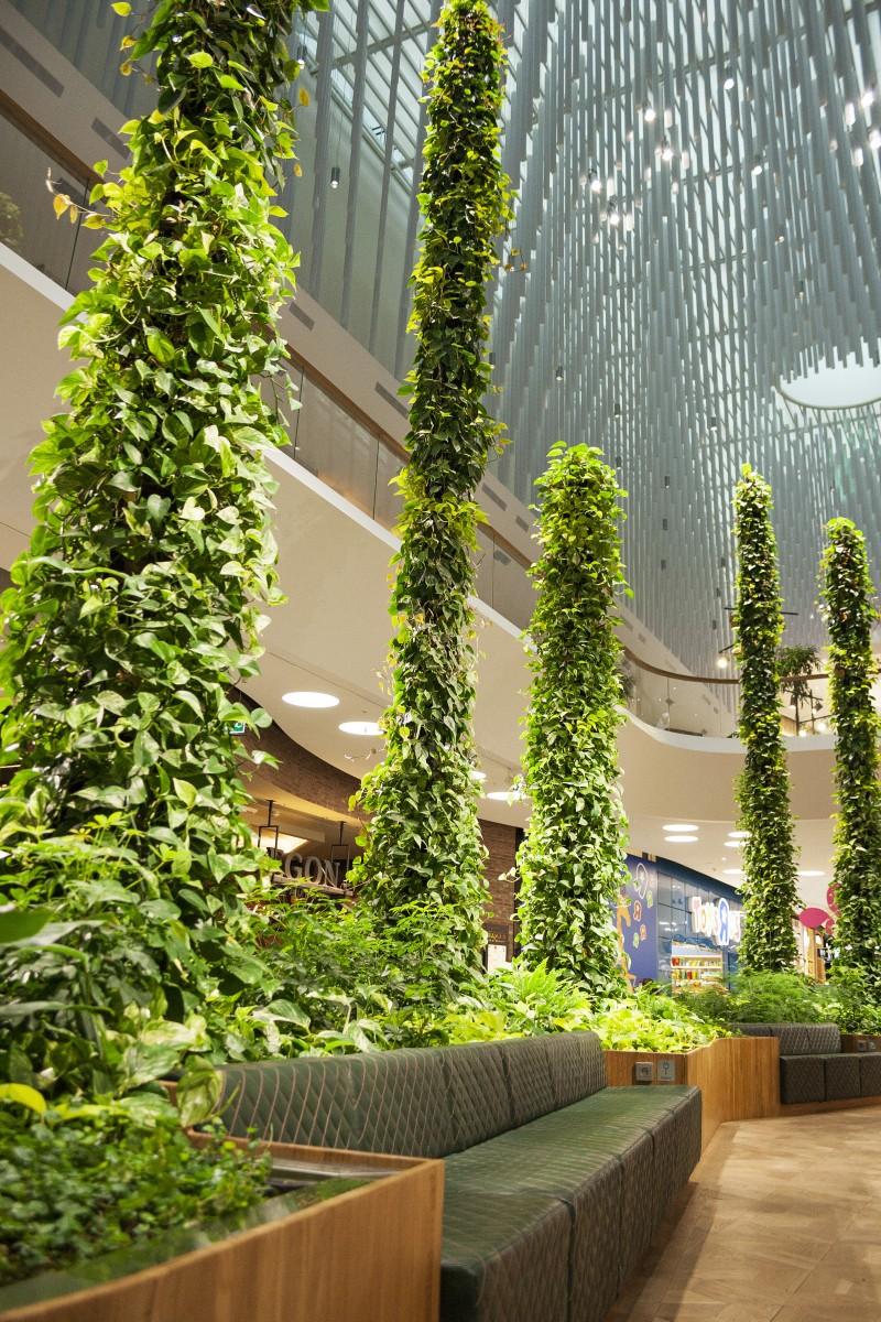 Green Fortune Stalagmites 2016 Mall of Scandinavia Stockholm Sweden 2