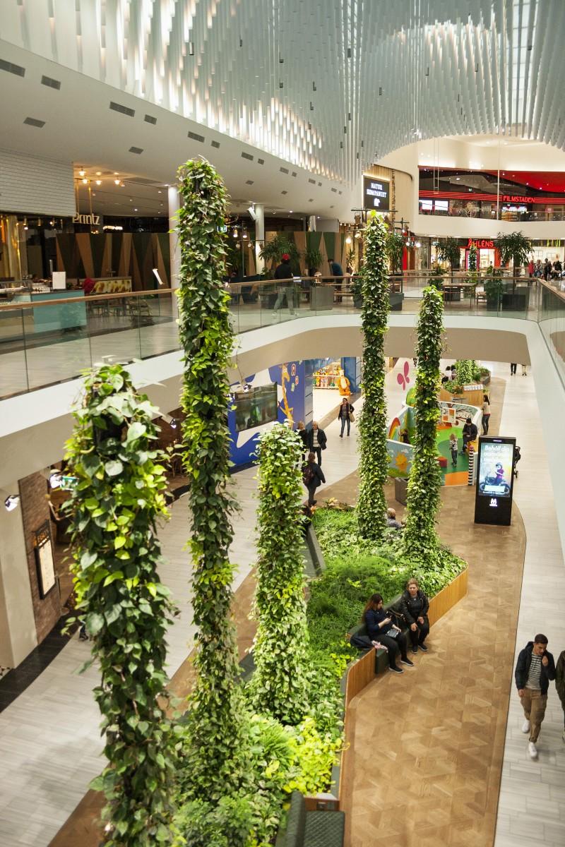 Green Fortune Stalagmites 2016 Mall of Scandinavia Stockholm Sweden 3