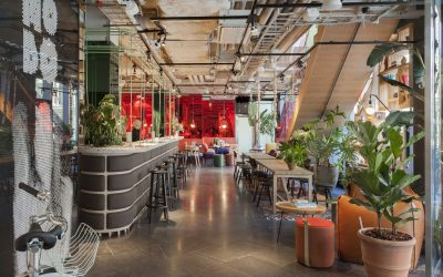 HOBO – design hotel, with urban farming