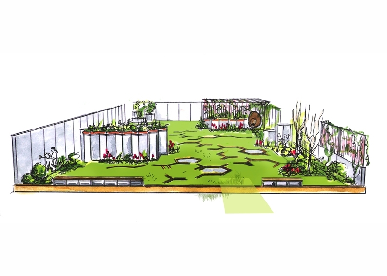 EILO Board Member Anne Cabrol chosen Master Gardener at Paysalia 2017