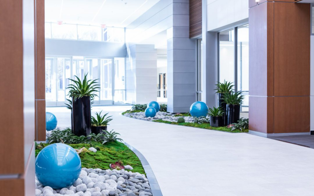 1750 Forest Drive, Office Lobby – WINNER SILVER LEAF