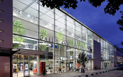 Gare d'Angers, garden in the air – WINNER GOLD LEAF